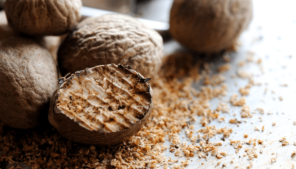 Fascination and secrets of the nutmeg
