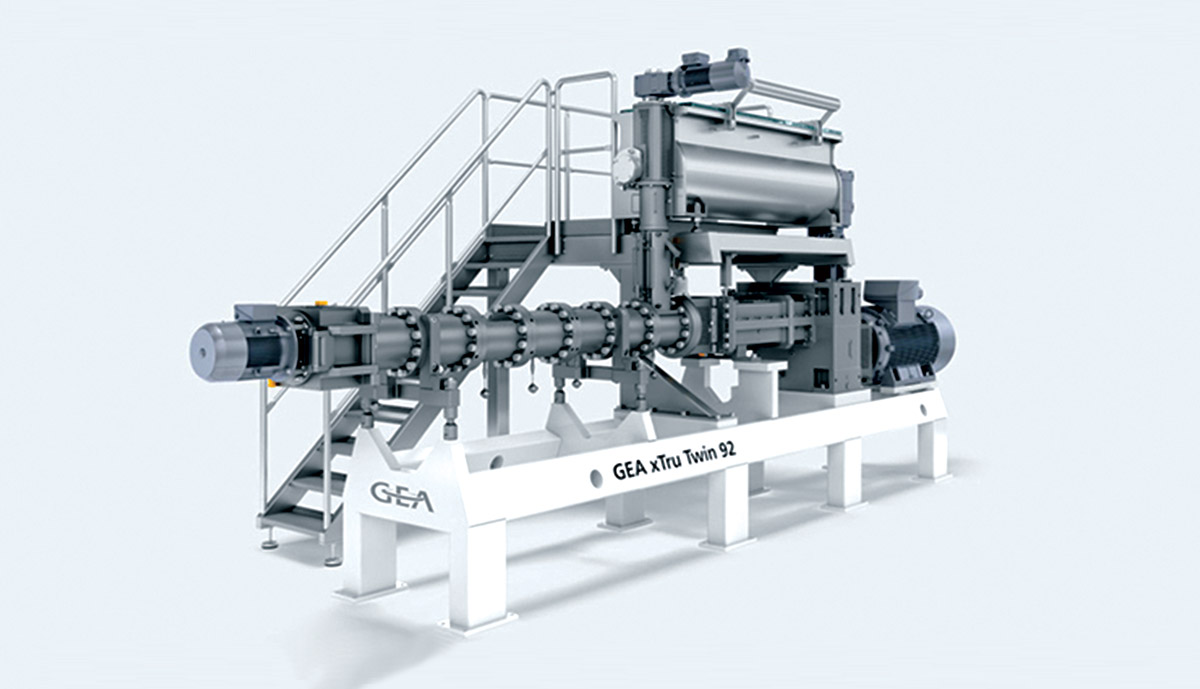 GEA launches its new extruders