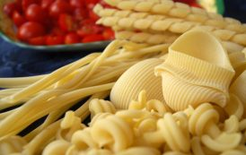 Pasta static drying process