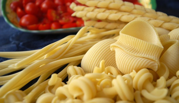 Pasta static drying process